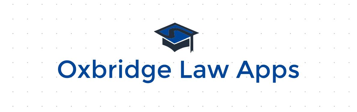 Oxbridge law personal statement