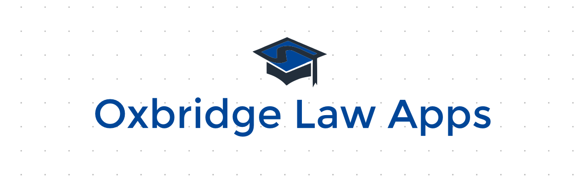 Oxbridge Law Apps